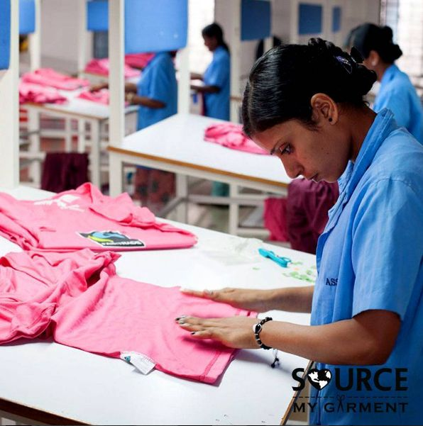 """Pause!- QC time! ✋ A""""Quality Control"""" team is in all our factories. They check to ensure that your clothes meet your standards for quality before moving to the next stage in production✔/. Nothing gets passed these guys! ----------------------------------------------------------------- #ethicalfashion #sustainablefashion #transparency #clothingmanufacturing #apparelmanufacturing"""