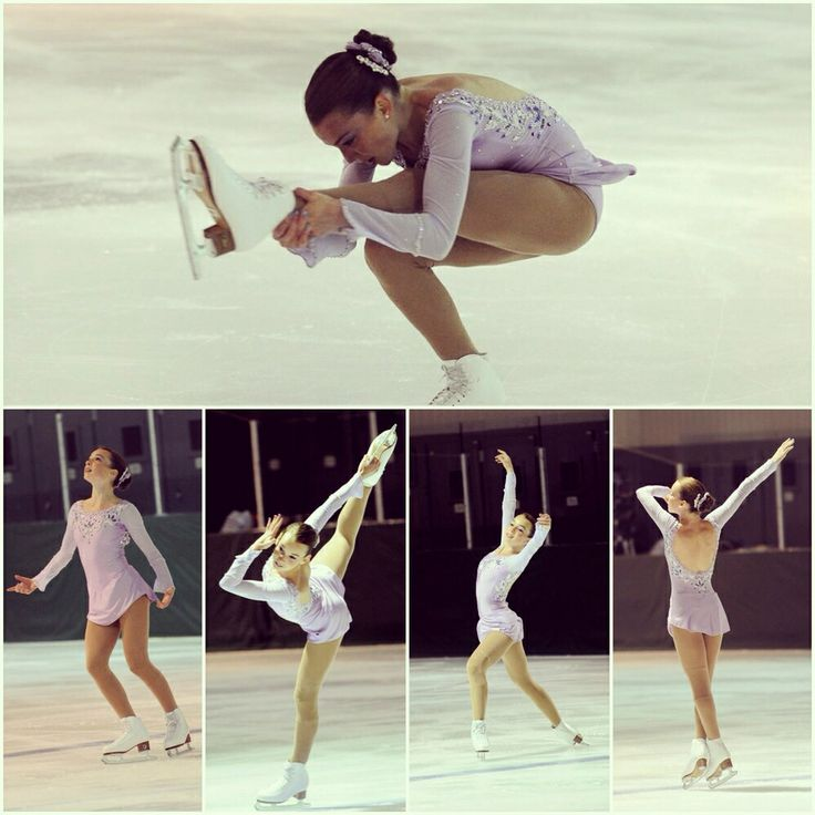 Competition time!!! Almost ready for the victory...<3 Love figure skating