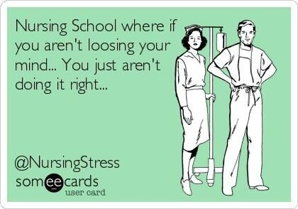 Also not just nursing school!!