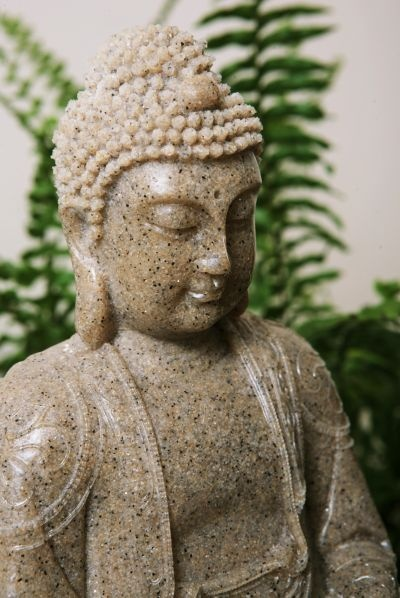 Peaceful Buddha Water Feature With LED Light £44.95