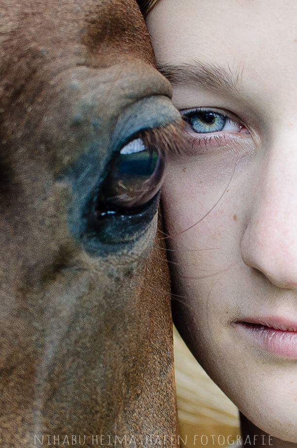 "Mädchen-mit-Pferd ""The World in your Eyes"" #Horse #Girl #Photography"