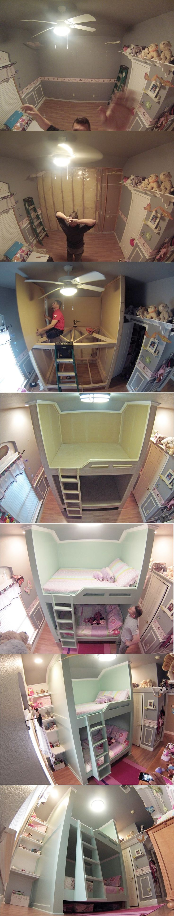 Bunk Bed With Desk On Bottom Woodworking Projects Amp Plans