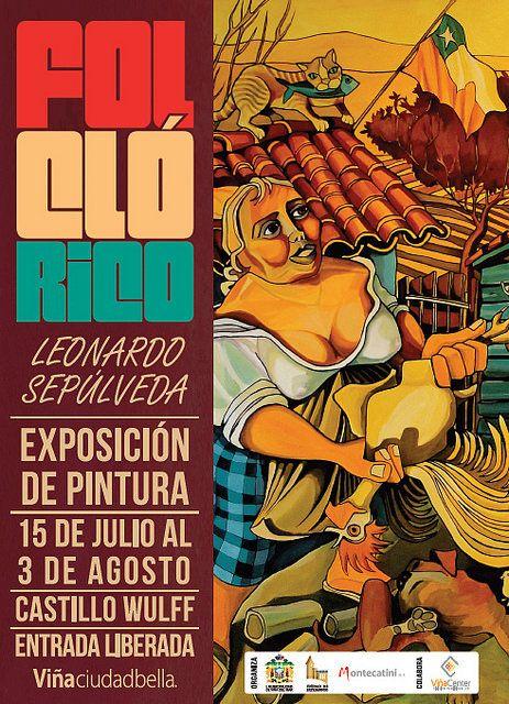 """Exposición """"Folclórico"""" en Castillo Wulff"""