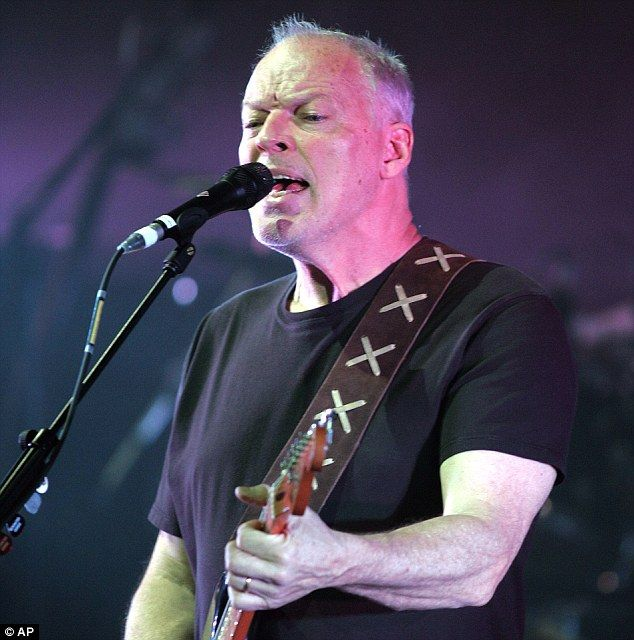 Pink Floyd guitarist David Gilmour (pictured) is heading out on the road again for his fir...
