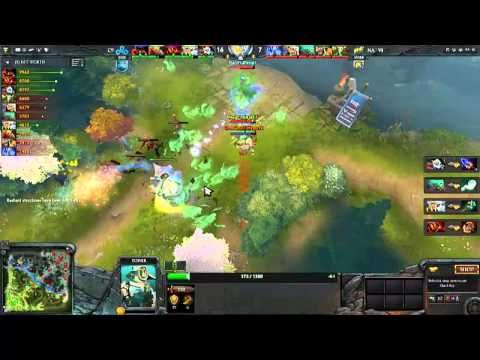 DotA2 Cloud9 Vs Natus Vincere Video3