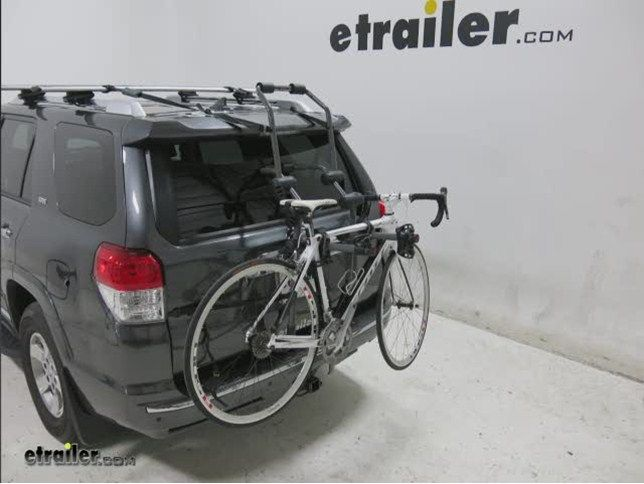 Hollywood Racks Over-the-Top 2 Bike Carrier for Vehicles w/ Spoilers - Adjustable Arms - Trunk Mount Hollywood Racks Trunk Bike Racks HRF2