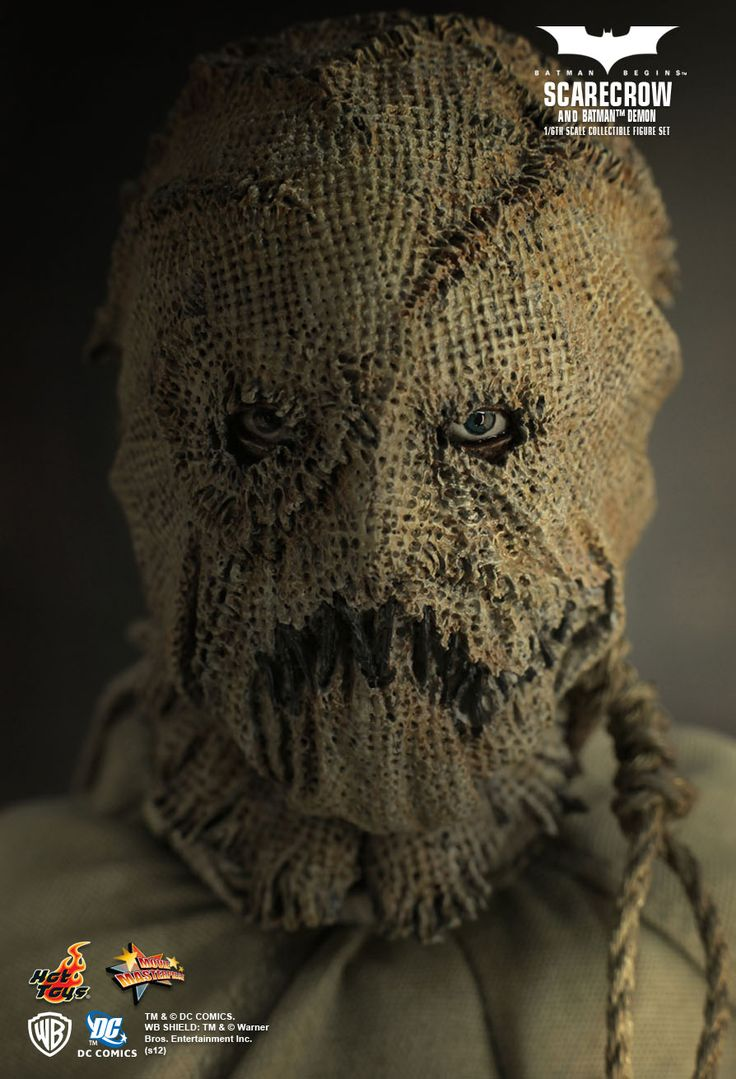 Hot Toys : Batman Begins - Batman Demon & Scarecrow (Hot ...