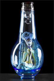 Luciana Cornale  Scultura morbida in miniatura sotto vetro 60 cm