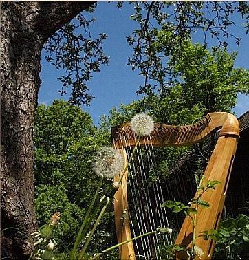 morceaux pour harpe celtique