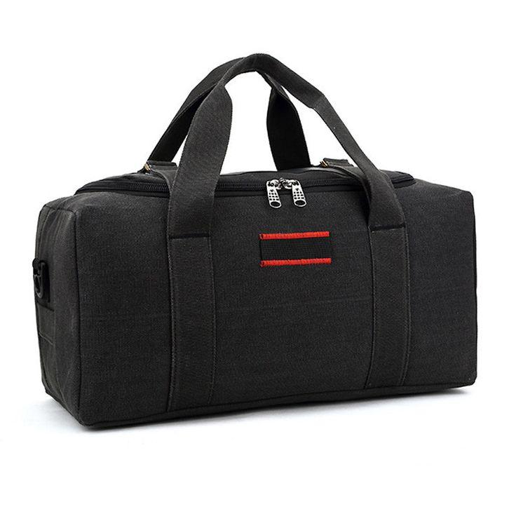 2017 Canvas Travel Bag Weekend Bag Large Capacity Overnight Bag shoulder Men Waterproof messenger bags Women Travel Tote