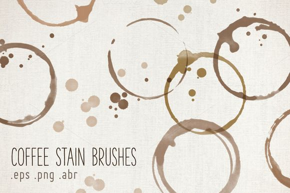 Coffee Stain Brushes | Paper Cards, Stains and Brushes