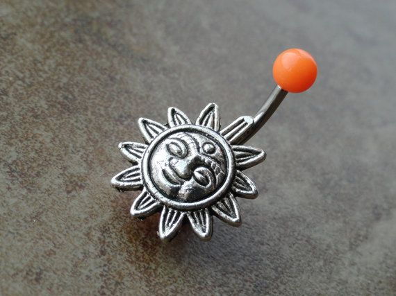 Orange Celestial Sun Belly Button Ring Jewelry http://www.etsy.com/listing/122799923/orange-celestial-sun-belly-button-ring?ref=sr_gallery_15_search_query=Jewelry_view_type=gallery_ship_to=MK_search_type=all