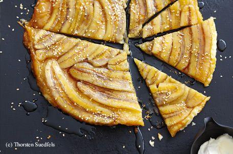 Bananen-Tarte Tatin