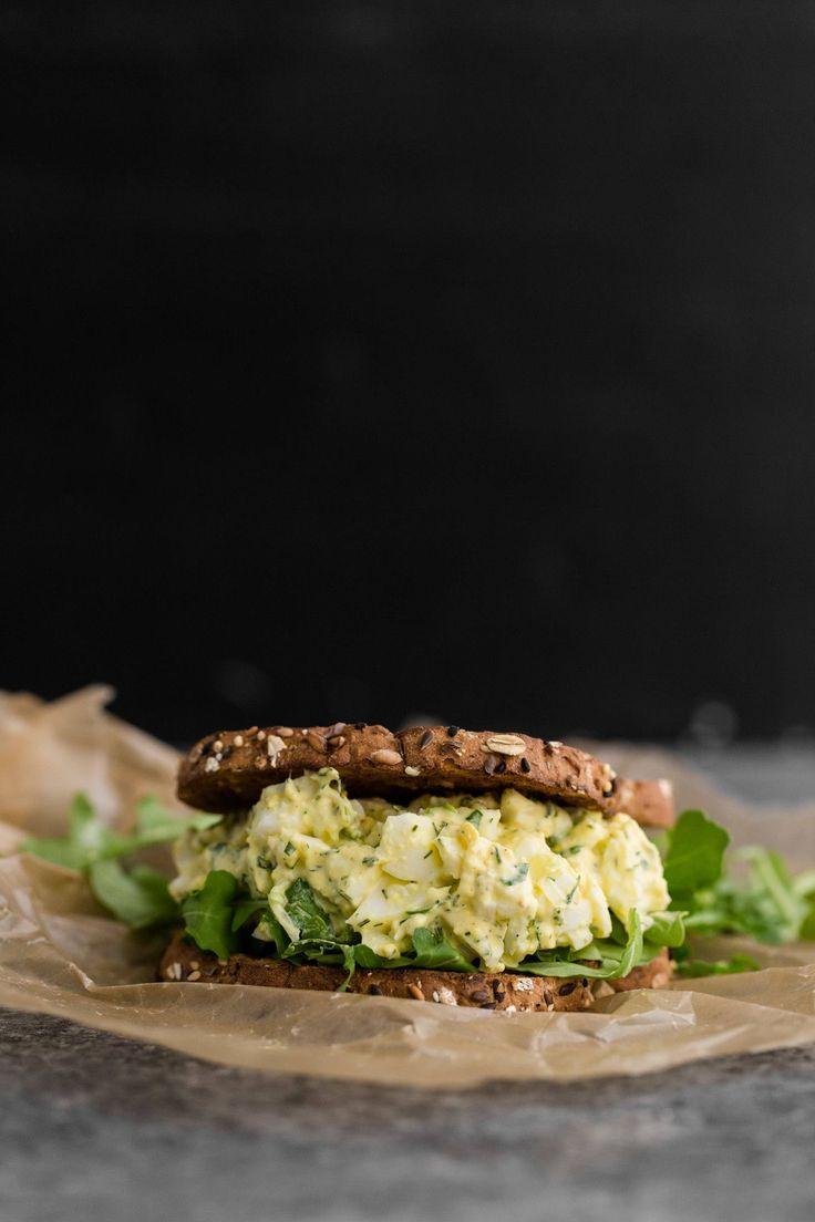 Egg Salad Sandwich | Recipe | Egg Salad, Egg Salad Sandwiches and ...