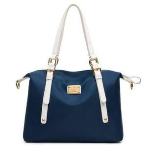 Buy 'LineShow – Nylon Tote with Shoulder Strap' with Free International Shipping at YesStyle.com. Browse and shop for thousands of Asian fashion items from China and more!