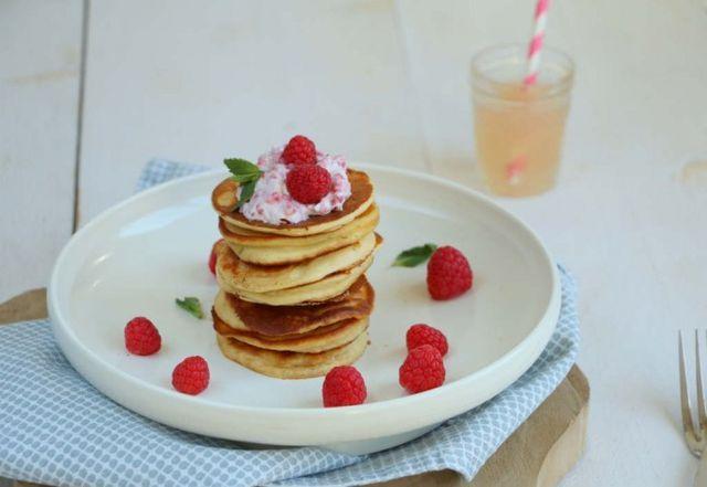 Ricotta pannenkoeken met frambozen | Lekker eten met Linda | Bloglovin'