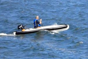 Wavewalk® 700 Rigid Inflatable Boat (RIB)