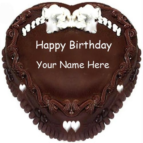 Birthday Cakes With Name Vaishali ~ Happy birthday cake images with name editor pinterest