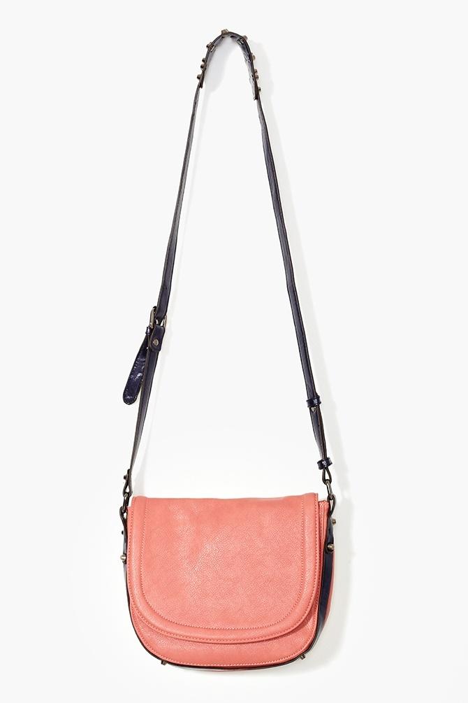 Sundown Studded Bag in Coral