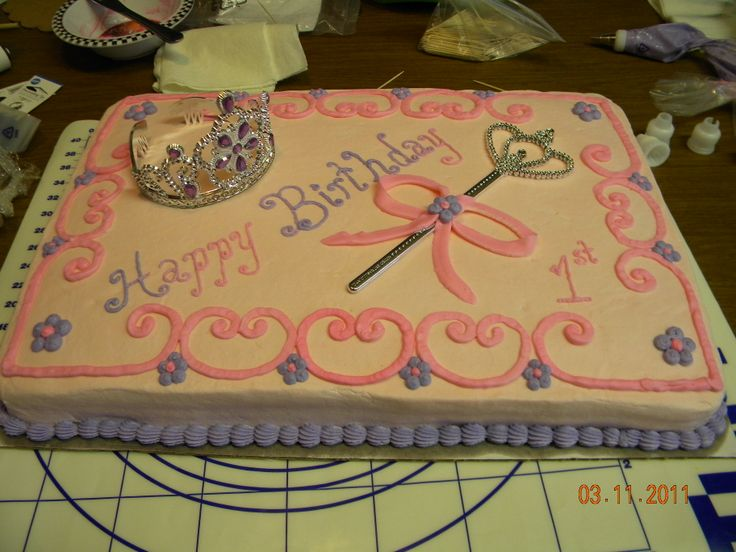 Princess 1st Birthday Pretty simple princess first birthday