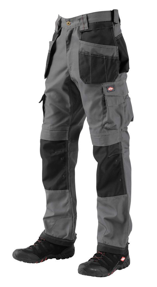 3ad41ee68873f3 Men's Lee Cooper Workwear Trousers Multi Pockets knee Pads pockets  Grey/Black | Clothes, Shoes & Accessories, Men's Clothing, Trousers | eBay!