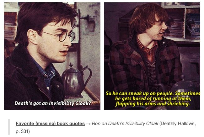 Lines that should have been in the movie #harrypotter