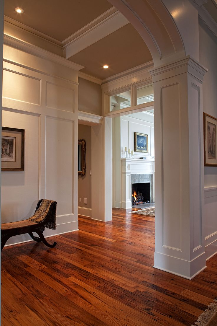 Residential & Commercial | Architectural Designs | Bluffton Use molding to cover removable wall panels
