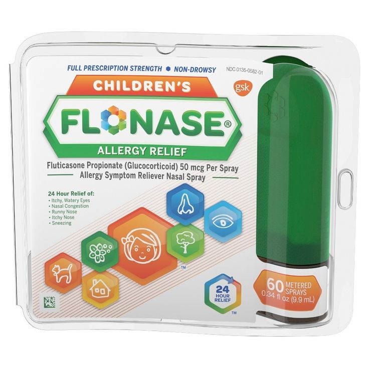 Flonase Children's 24 Hour Non-Drowsy Allergy Relief Sprays - Fluticasone Propionate - 60ct