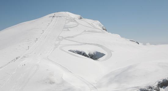 A brave descent in Falakro Ski Resort near #Kavala #Greece
