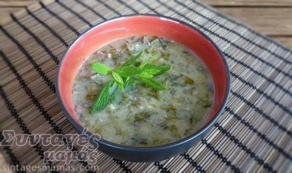 Magiritsa soup - Μαγειρίτσα