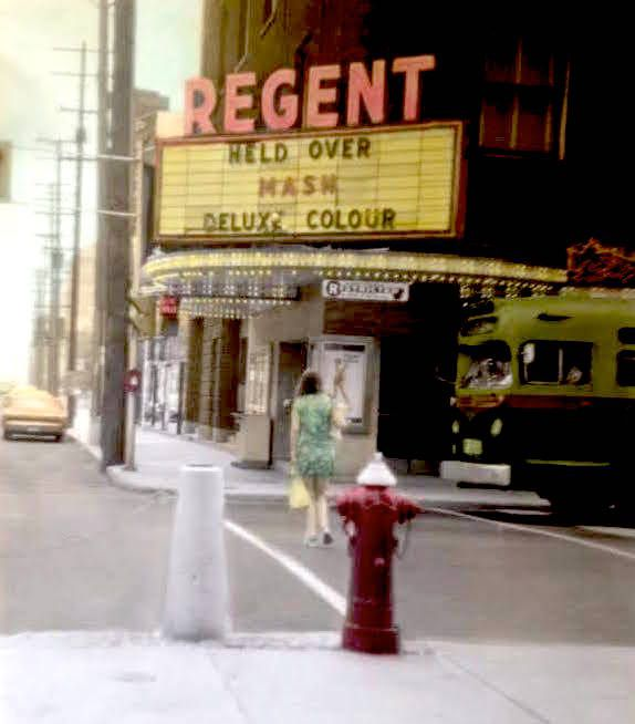 Regent Theatre at Bank & Sparks St.  I saw wait until dark there.