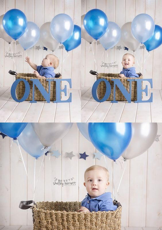 First Birthday Photography Themes Party Ideas Boy
