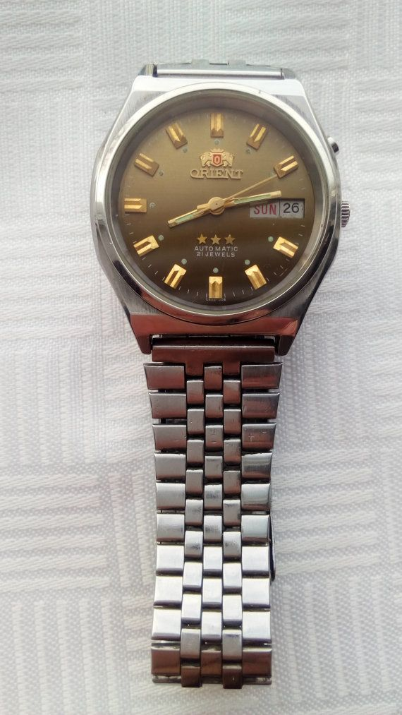 Reloj Orient automático 21 joya reloj automático por MyVintageBAG