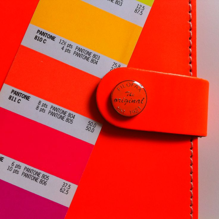 Image Gallery neon orange pantone