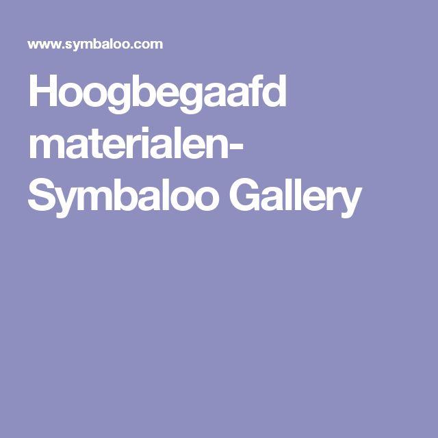 Hoogbegaafd materialen- Symbaloo Gallery