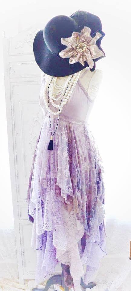 Stevie Nicks inspired dress for her 24 Karat Gold tour, Gypsy lace dress, boho maxi dress
