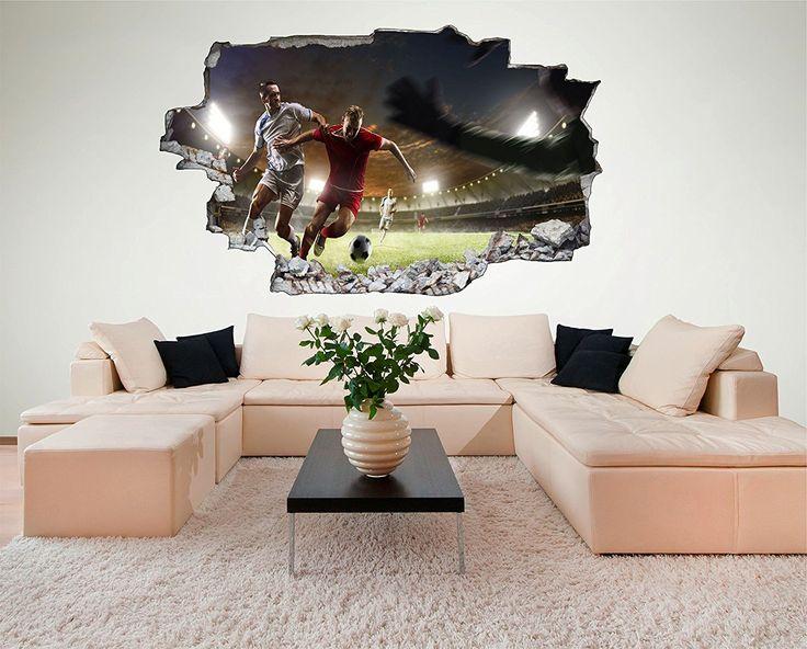 142 besten Fußball Kinderzimmer Bilder auf Pinterest Fußball - wandbilder f rs wohnzimmer