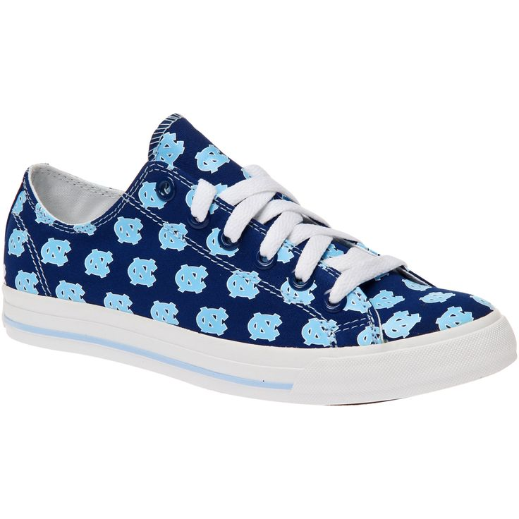 North Carolina Tar Heels Women's Oxford Lace Up Shoes