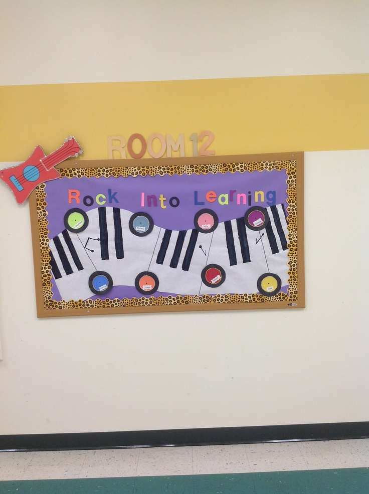 Music Themed Classroom Decorations ~ Best welcome bulletin boards ideas on pinterest