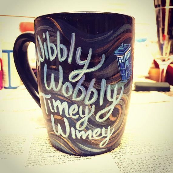 Doctor Who mug by ArtsyDeniseToo on Etsy