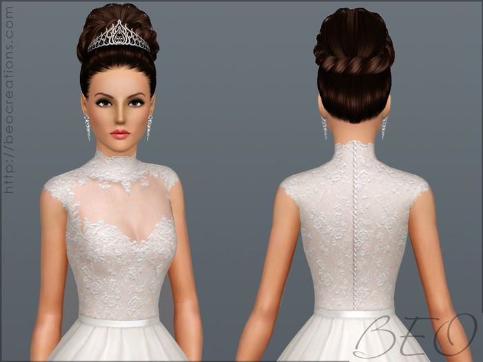 Wedding dress 27 by BEO - Sims 3 Downloads CC Caboodle