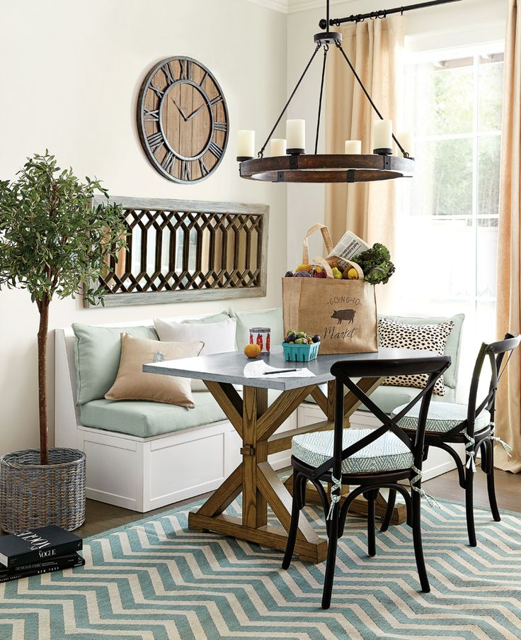 New tatum trestle table is perfect for small spaces like a breakfast nook ballard designs dining tablesmall dining room