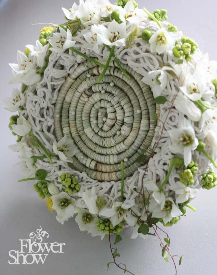 Interesting floral arrangement - Flower Show   Inna Petrenko