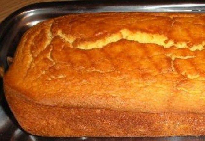Gluténmentes joghurtos kenyér