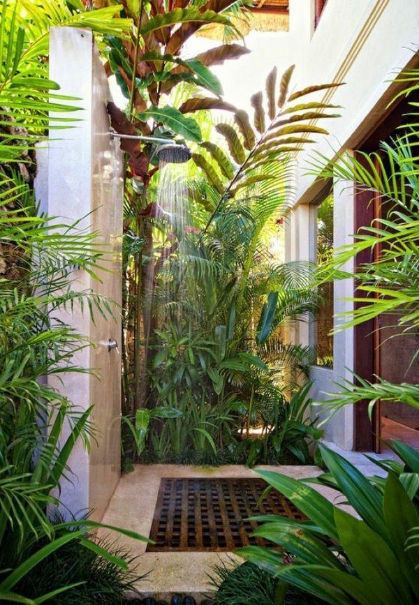 douche extérieur pour jardin  | ... un espace extérieur extraordinaire avec douche – idées de jardin