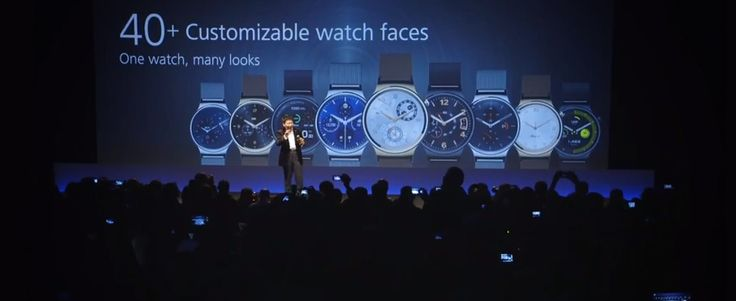 Chinese smartphone maker Huawei as announced its first Android Wear smartwatch at Mobile World Congress. Huawei Watch, powered by Android Wear™ operating system.
