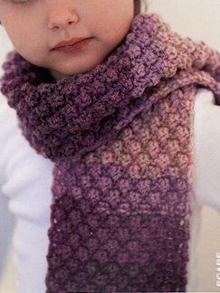 Ella Rae... Bramble Stitch Scarf