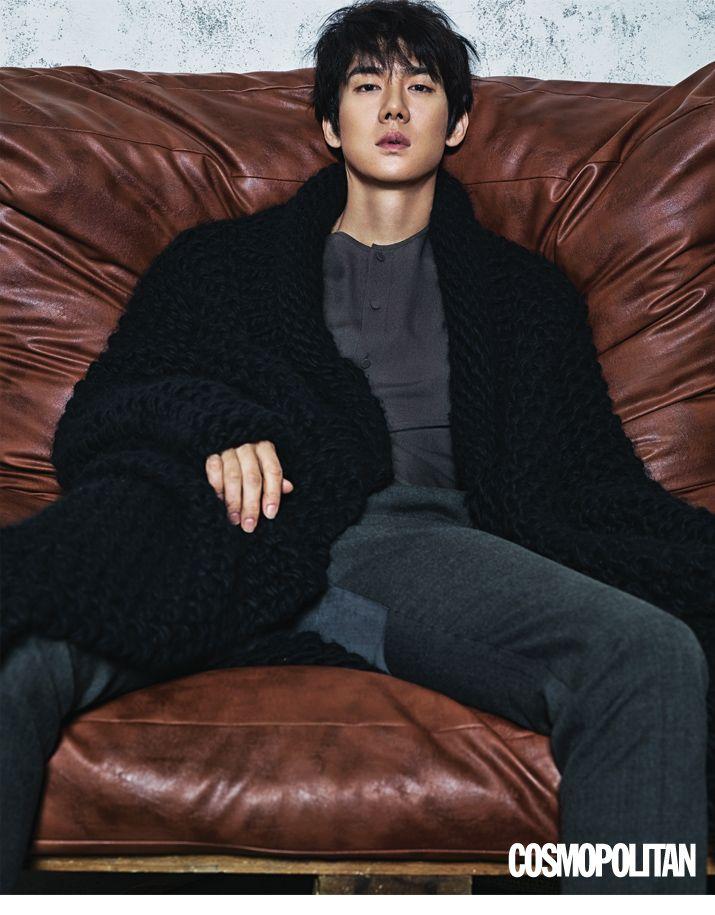 Yoo Yun Suk - Cosmopolitan Magazine January Issue '16