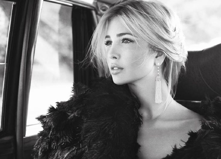 Ivanka Trump - beautiful woman as well as an amazing role model/businesswoman!