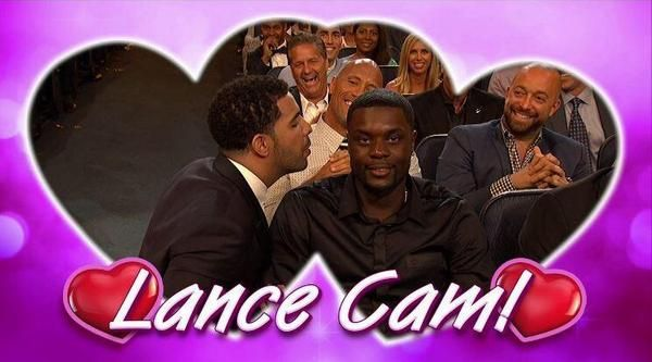 Drake Blew On Lance Stephenson's Ear At The ESPYS